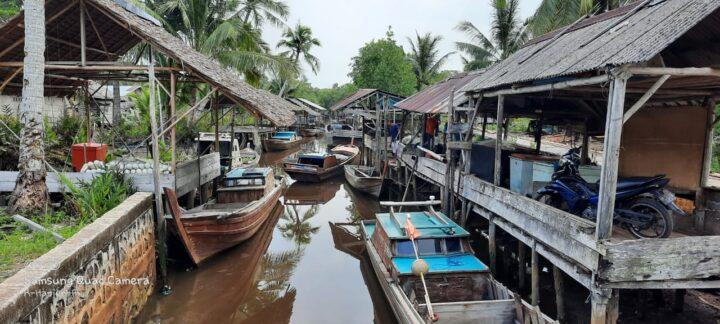 Kapal Tranportasi Tidak Jalan, Toke Ikan Sungai Pinang Lingga Tolak Beli Hasil Tangkapan Nelayan, SamuderaKepri