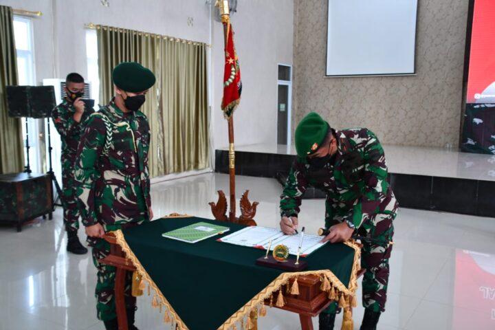 Danrem 033/WP Pimpin Penyerahan Jabatan Danyon Yonif Raider 136/TS Letkol Inf Andi Ariyanto, SamuderaKepri