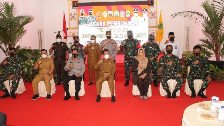 TMMD ke 111 Dibuka Gubernur Provinsi Kepri di Lingga, SamuderaKepri