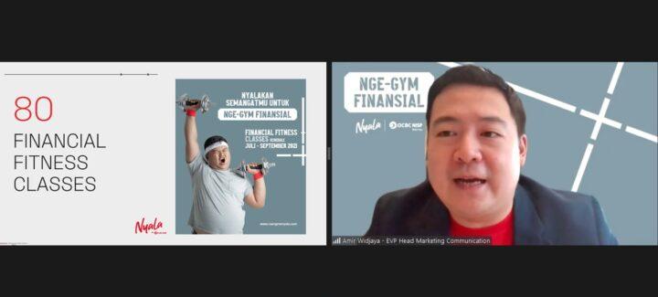 NYALA | OCBC NISP Ajak Generasi Muda Nge-Gym Finansial Untuk Raih Kondisi Finansial yang Fit, SamuderaKepri