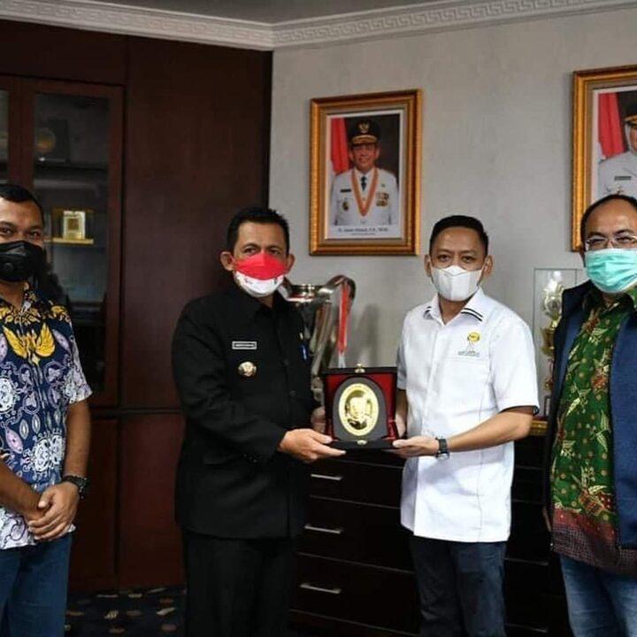 Gubernur Kepri Sambut Audiensi Himpunan Pengusaha Muda Kepri, Kolaborasi Bangkitkan Ekonomi Kepri, SamuderaKepri