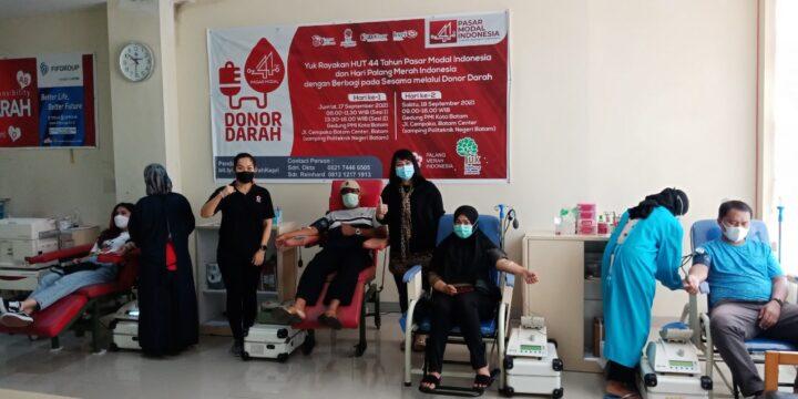 Peringati 44 Tahun Pasar Modal Indonesia Sejumlah Perusahaan di Batam Laksanakan Kegiatan CSR, SamuderaKepri